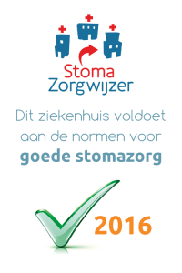 Stomazorgwijzer - groene vinkje 2016