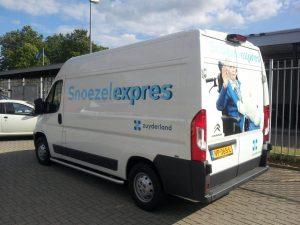 Snoezelexpres sponsoring