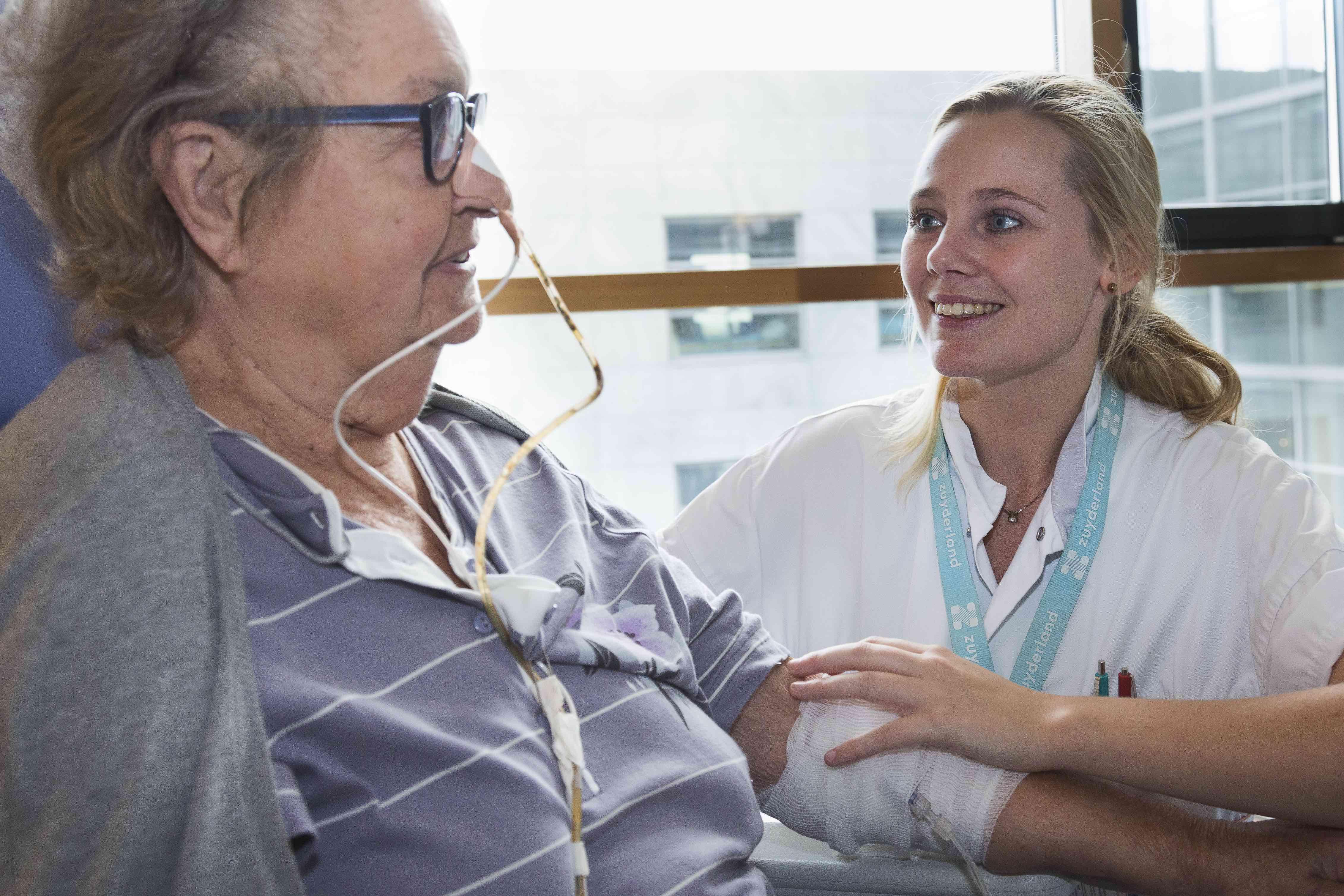 Foto van Serena Nieman verpleegkundige Zuyderland